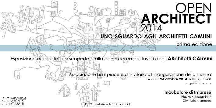 invito OPEN ARCHITECT 2014