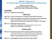 Gli obblighi progettuali Europei NZEB