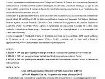 Scheda pre adesione corso coordinatori 120 ore architetti camuni Pagina 1